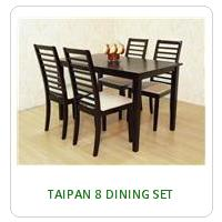 TAIPAN 8 DINING SET